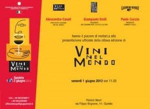vini nel mondo 2012