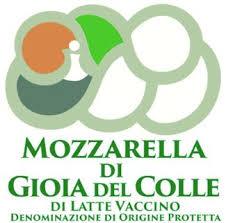 mozzarella di Gioia del Colle DOP - logo